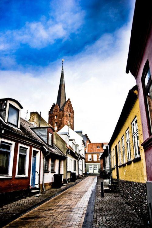 Nakskov in Lolland, Denmark