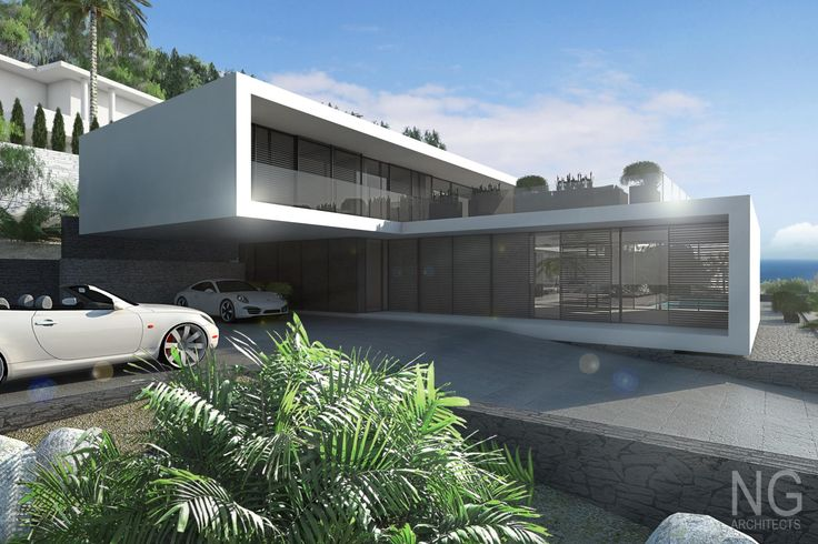 Villa altea ng architects visual arq 3d artist s for Villa minimal