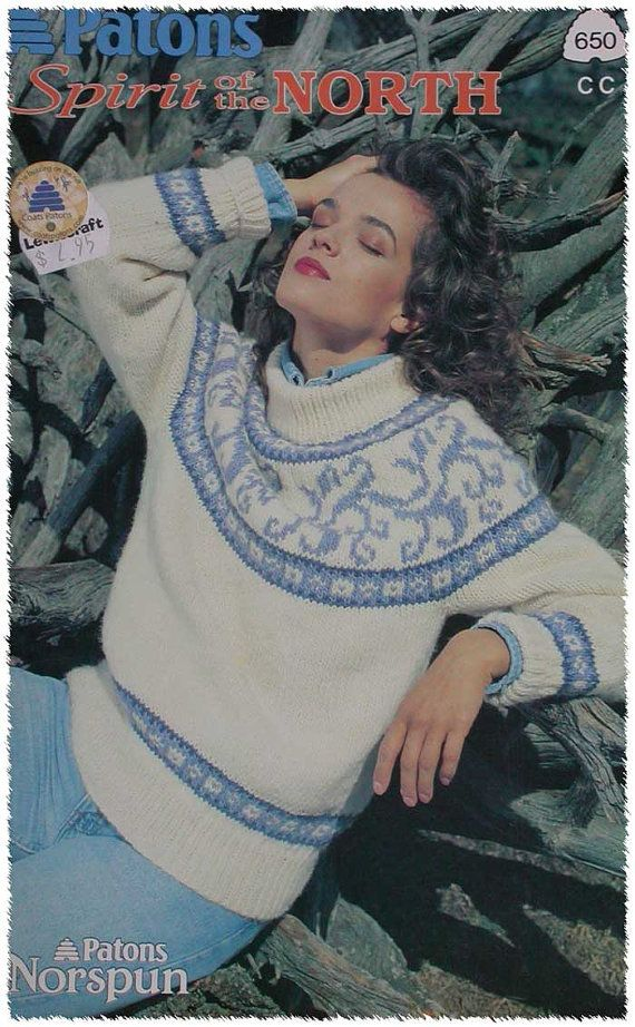 Spirit of the North Norspun Knitting Pattern Book by TheHowlingHag, $5.95