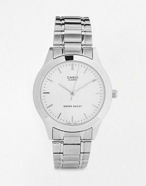 Casio - MTP1128A-7A - Montre-bracelet en acier inoxydable - Argenté