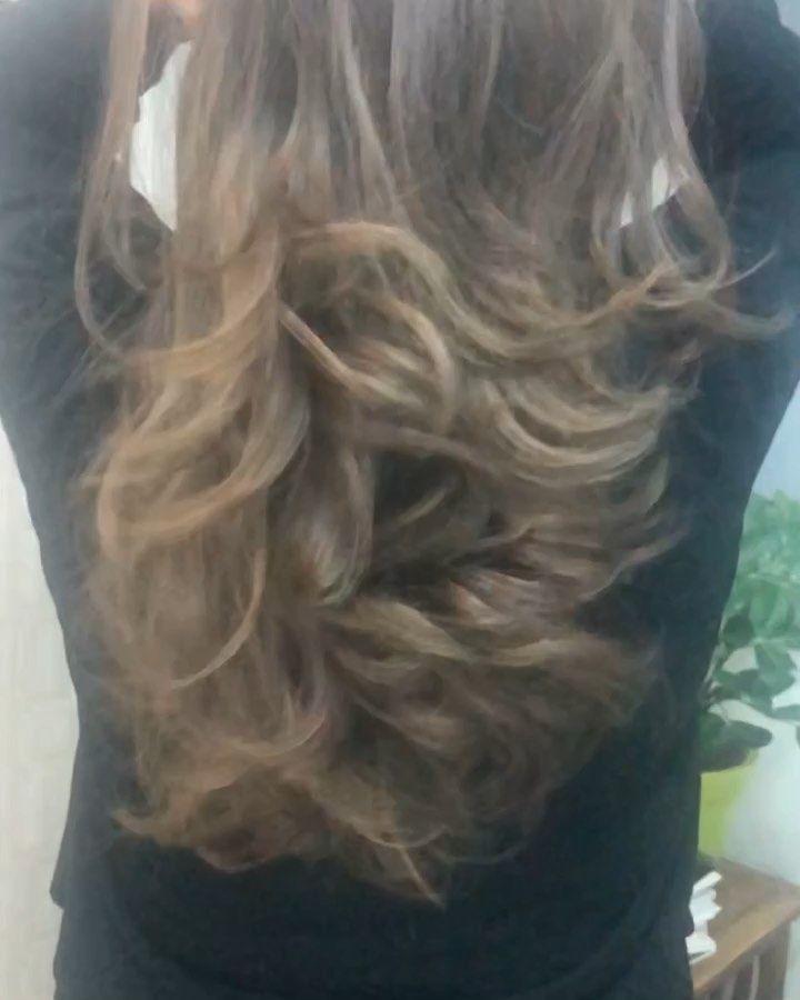 هالزبونه الجميله الله يحفظها مسويه صبغة و قص و برنامج علاج الشعر برو بروتين امريكي يمنح الشعر نتائج غاية فالروعة والتميز مع ت Hair Styles Long Hair Styles Hair