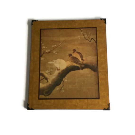 Asian Wall Art Japanese Art Print  Mounted by TreasuresFoundShoppe