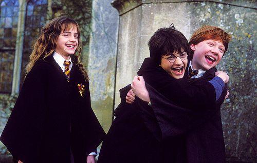 Harry Potter + Hermione Granger + Ron Weasley