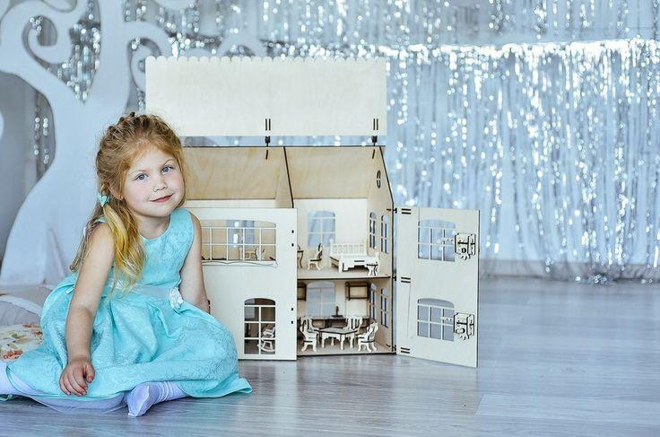 Puppe Haus Traum - Miniatur Puppenhaus, Puppenhaus Kit, viktorianisches Puppenhaus, Laser-cut Puppenstube, Puppenhausmöbel gehören 20 Stück von HatynkaUA auf Etsy https://www.etsy.com/de/listing/542271961/puppe-haus-traum-miniatur-puppenhaus