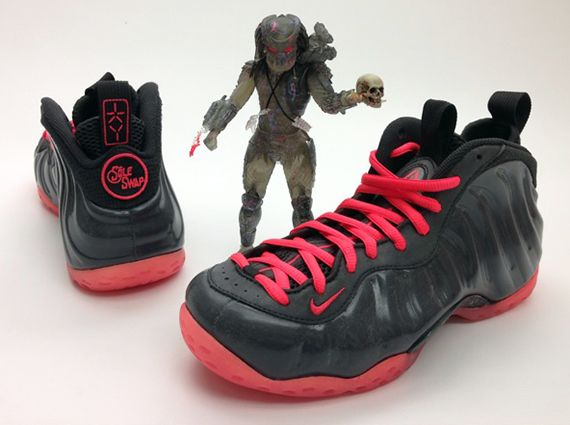 premium selection cfbec 93b5d New Arrival Nike Air Foamposite One Net Yeezy Custom
