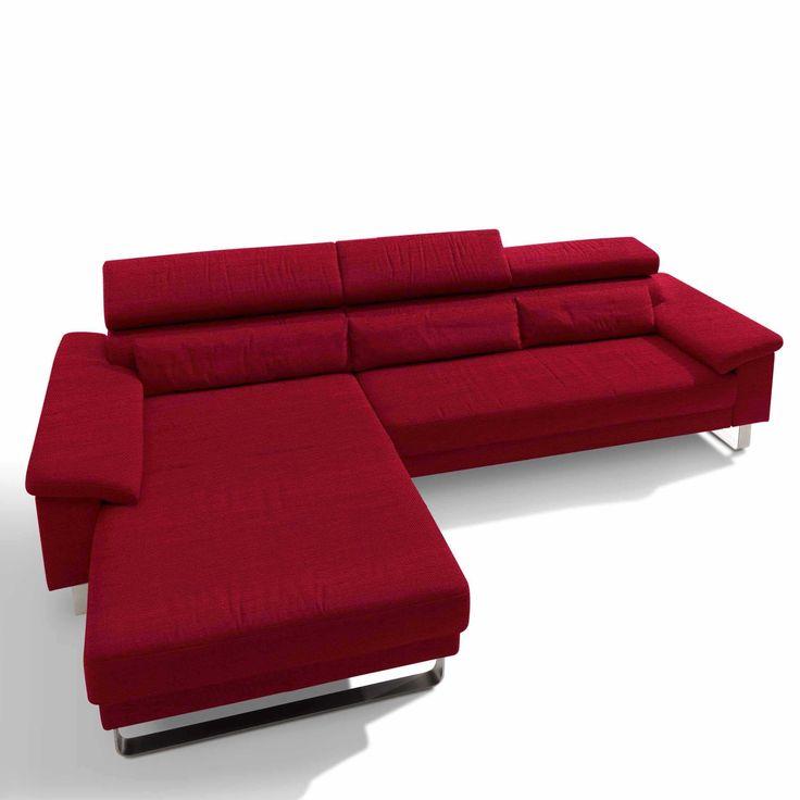 Luxury Segm ller Werkst tten Sofa Mercury Stoff rot Rot Stoff