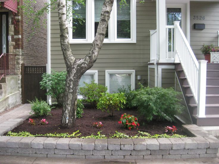 Front Amp Back Yard Garden Designs In Chicago By 4 Seasons Painting Amp Landscaping Chicago