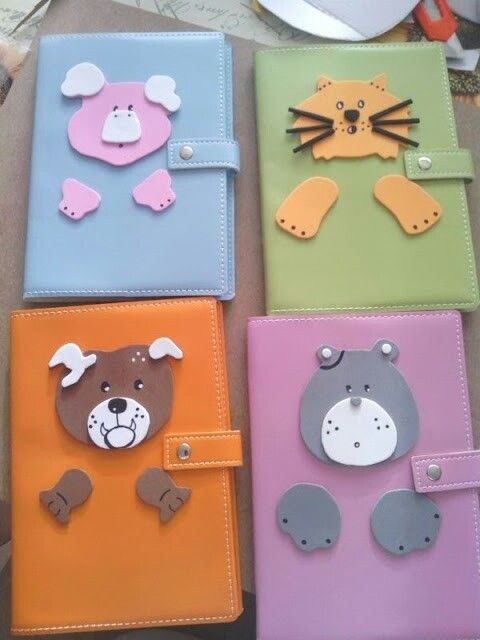 Agendas Decoradas Con Goma Eva Foamy My Creations Lo