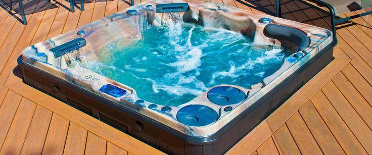 Découvrez le spa jacuzzi acrylique 6 places du fabricant Clair Azur. Assises de massage et 2 couchettes pour des bains bouillonants dans votre maison ou jardin.