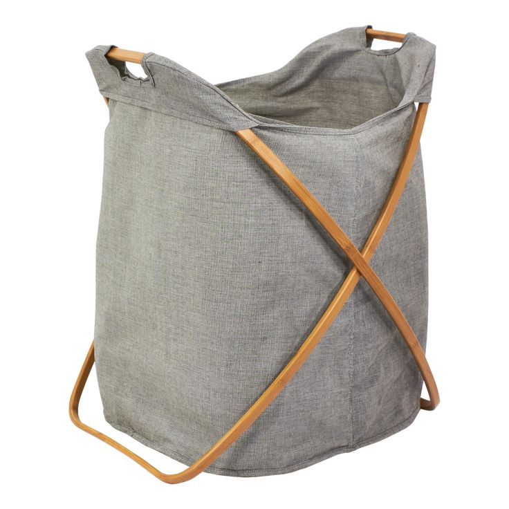 Gray Eco-Fabric Double Butterfly Hamper available from Storables.com