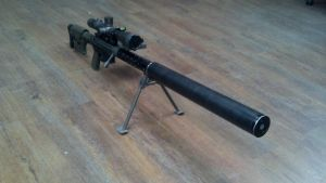 RJF 50 caliber suppressed