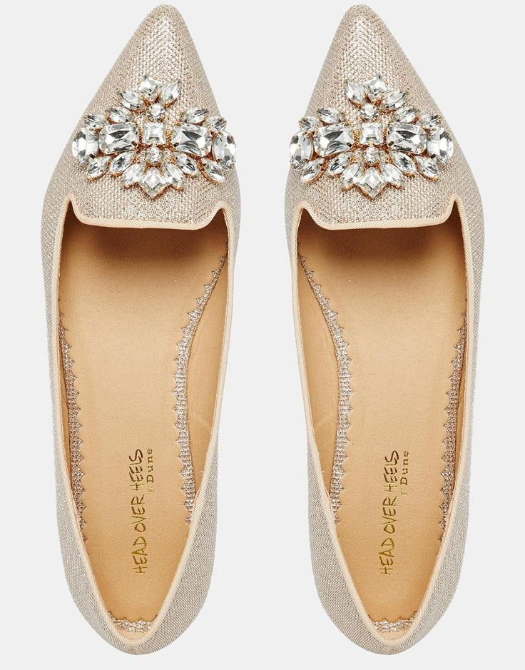 Bild 3 von Head Over Heels – Lou Lou – Verzierte, spitze, flache Schuhe