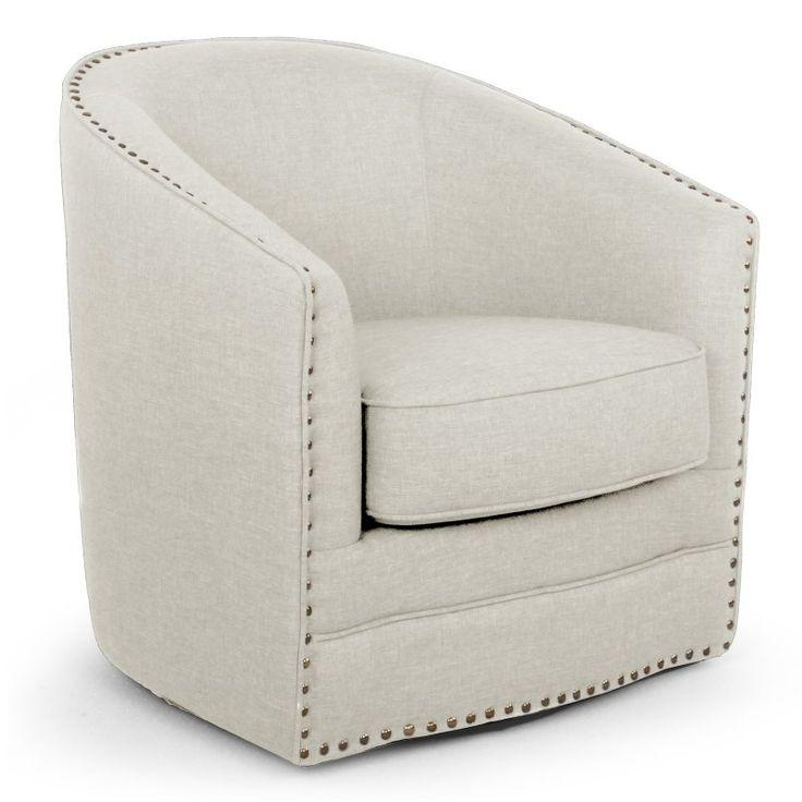 Baxton Studio Porter Barrel Chair