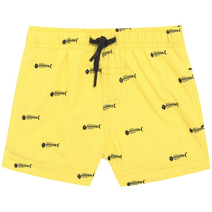 FW15 Cruise Collection - yellow swimming trunks