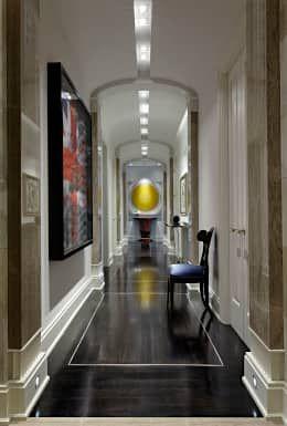 Hallway: classic Corridor, hallway & stairs by Douglas Design Studio