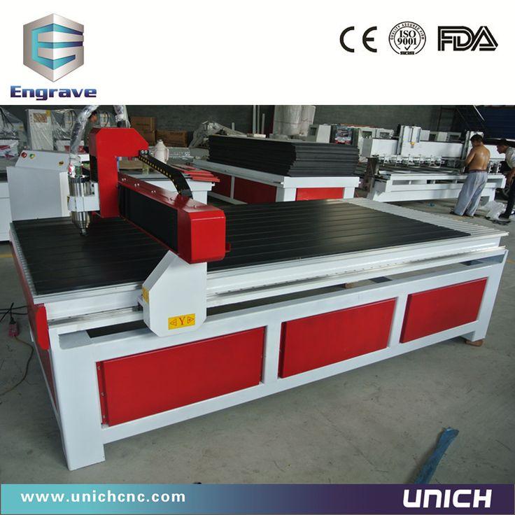 HOT HOT!!! китайский и Высокая скорость фрезерный станок с чпу машина 1200X2400 мм Unich мини чпу гравировальный станок с ценой