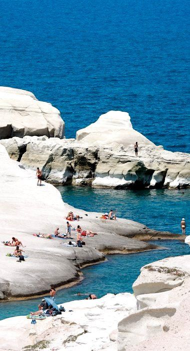 how to go in milos from crete