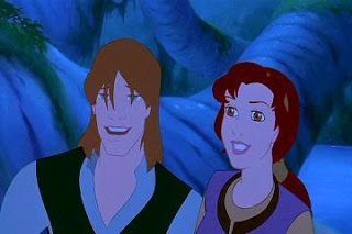 Quest for Camelot. It's been forever since I've seen this movie, but it's a good one!