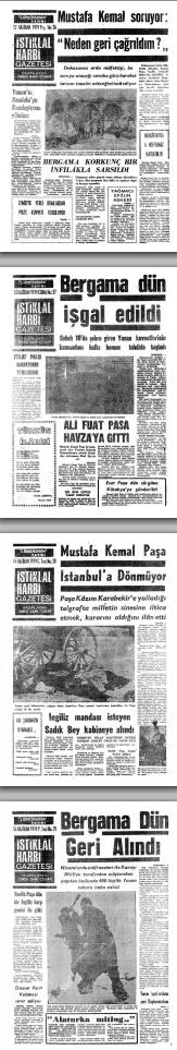 Unutulan Manşetler başlığı ile Ankara Ticaret Odası (ATO) tarafından yapılan bir çalışma ile 1919 yılından 2007 yılına kadar tüm gazetelerin ön sayfaları (manşetler) arşivlenmiş. http://w.lkan.ca/zVYHX8