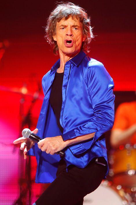 Carnet rose. Mick Jagger est arrière-grand-père