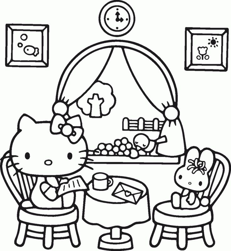 11 best Cartoon Coloring Page images on Pinterest | Kids\' colouring ...