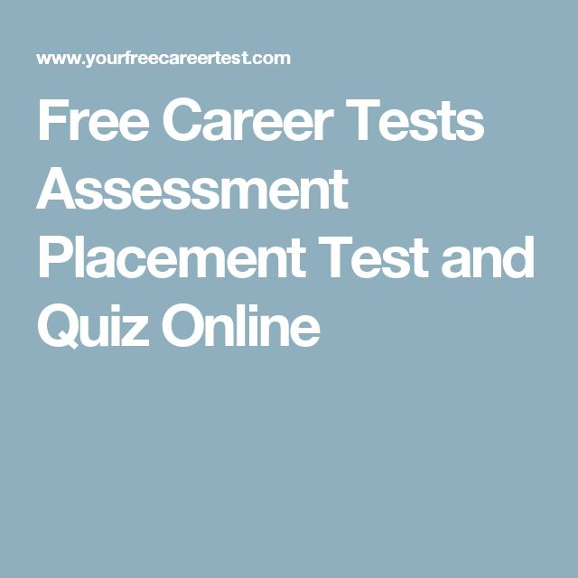 Best 25+ Career test free ideas on Pinterest Myers briggs test - career test free