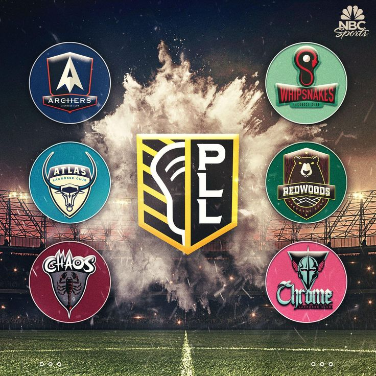 New professional lacrosse league logos look like they were