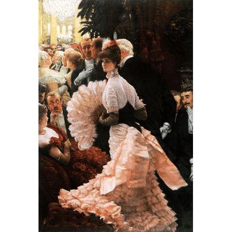 Reprodukcje obrazów James Tissot A Woman of Ambition - Fedkolor