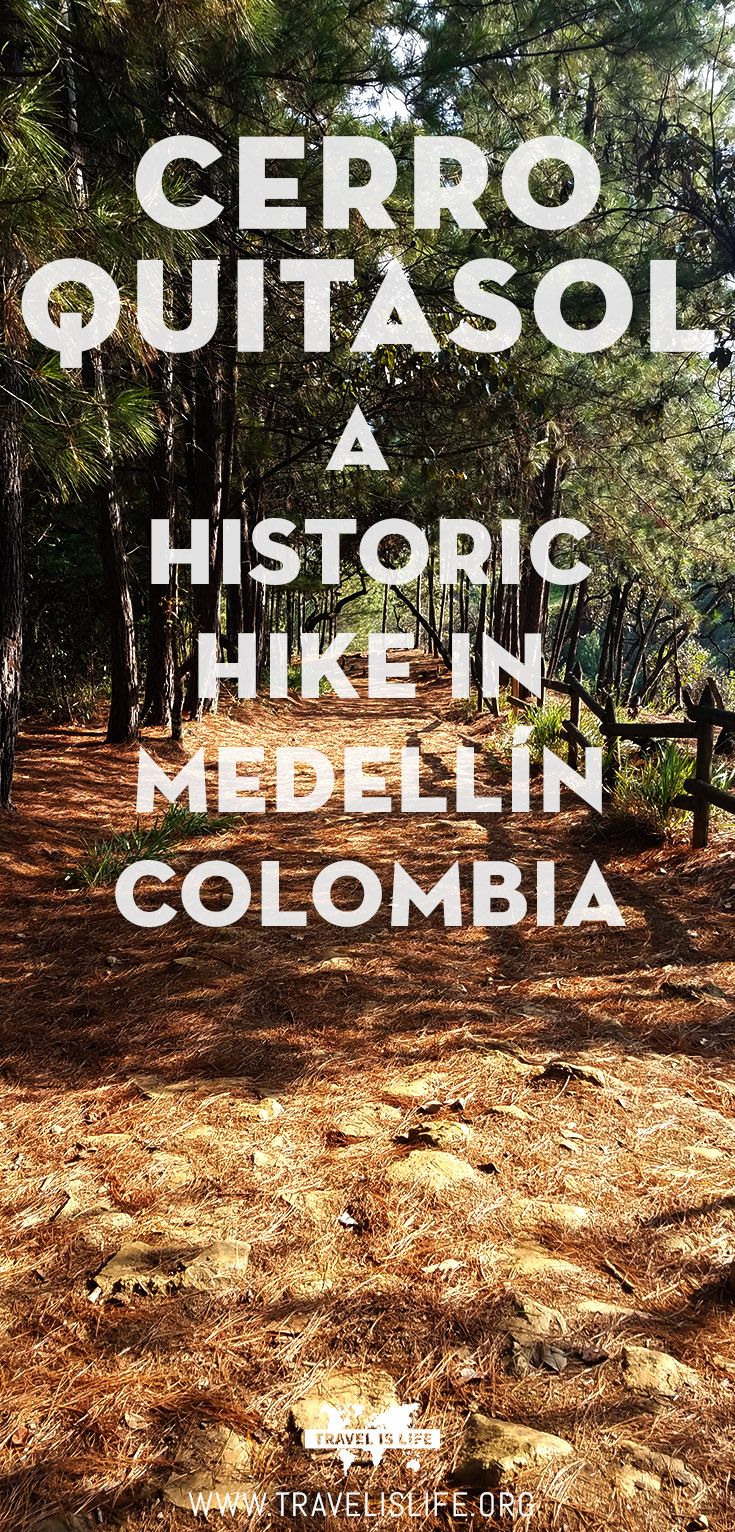 Join me on a historic hike to the top of Cerro Quitasol, one of the highest viewpoints in Medellín Colombia, located north of the city. #medellin #hiking #southamerica #colombia #cerroquitasol