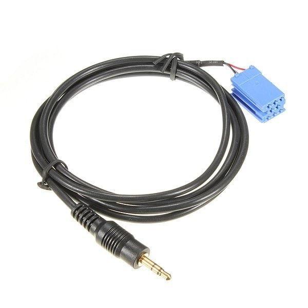 Aux Cable Auto Audio Parts for Blaupunkt Car Radio 00-10 BLA-3.5MM