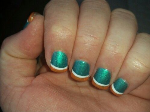 Best 25+ Miami dolphins nails ideas on Pinterest | Miami ...