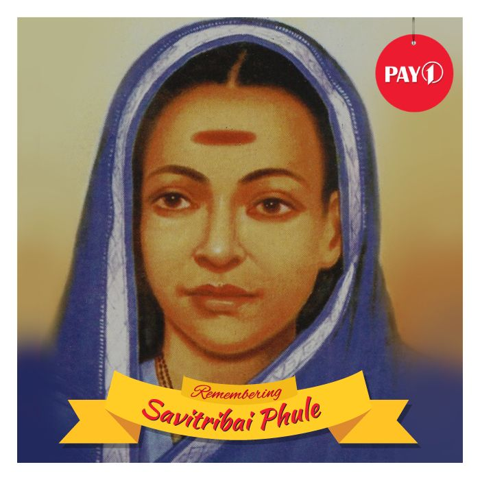 Our tribute to India's first woman teacher and a great social reformer #savitribai