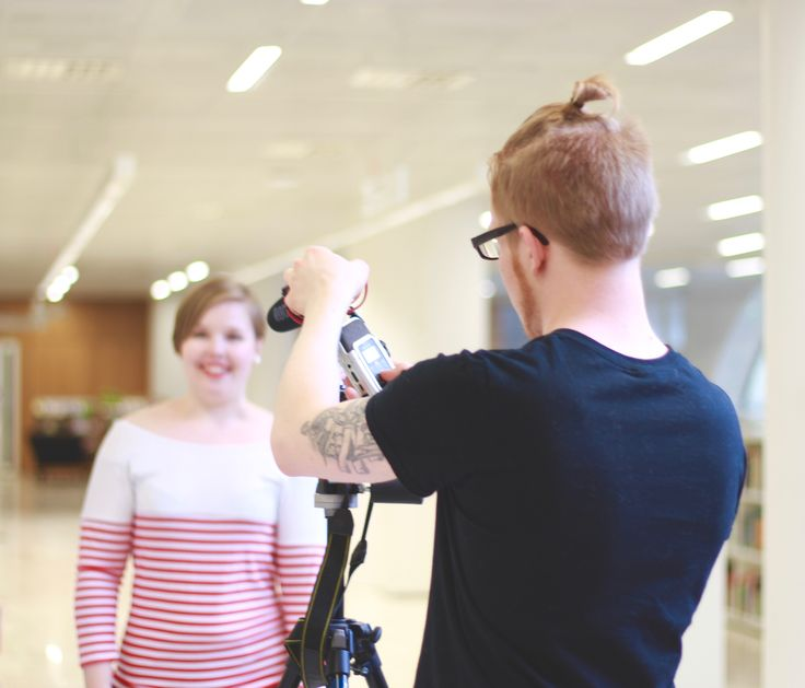 Last Saturday our team gathered in the Kaisa library to do something we had never done before: to film a video. And not just any video, but an introduction video for our chapter!