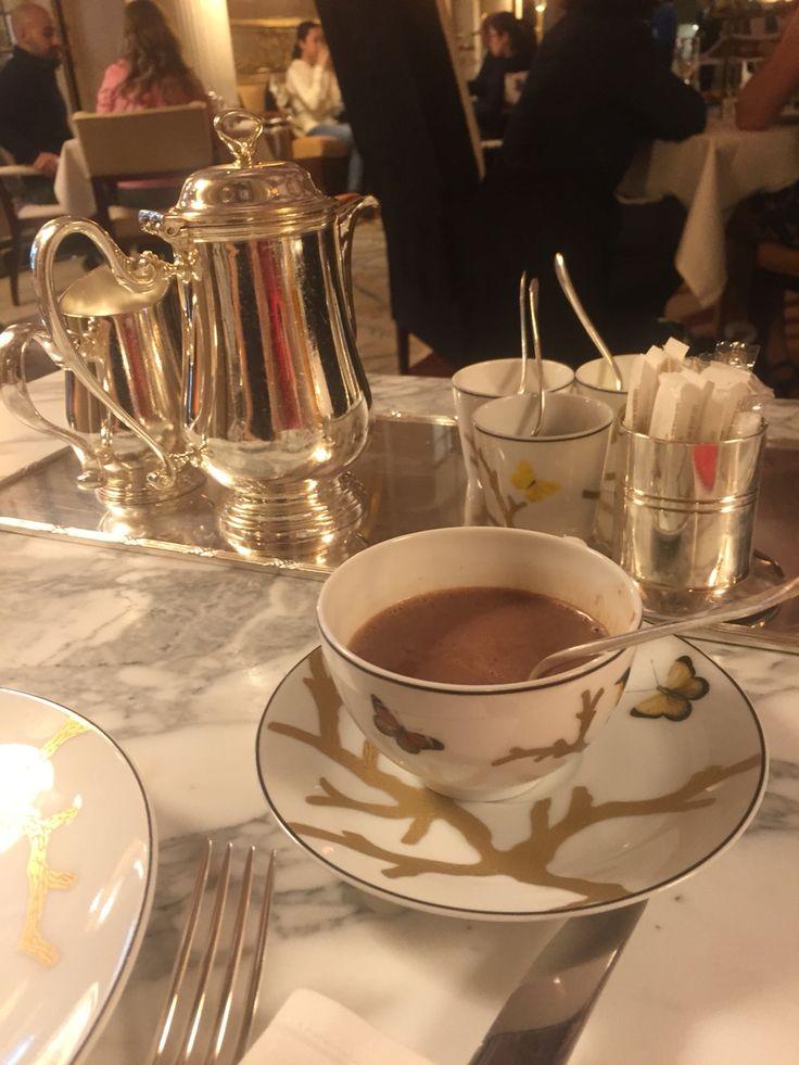 Chocolat chaud a l'ancienne, Alain Ducasse, le Meurice