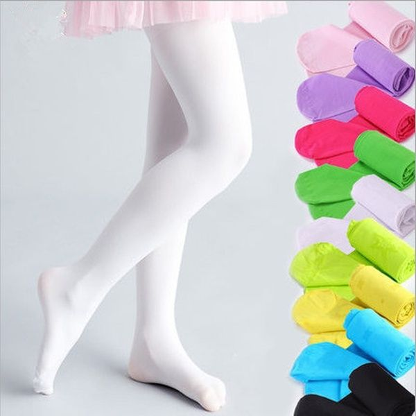 Girls Velvet Pantyhose Pants Stockings Foot Tights Dancing Socks Hose Ballet Kid