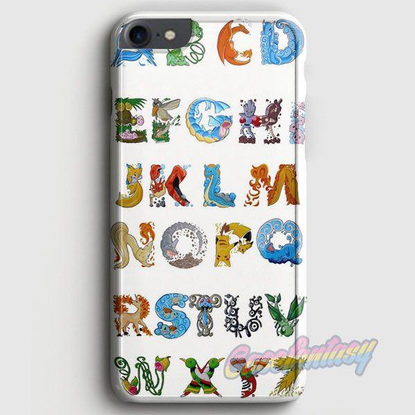 Pokemon Alphabet iPhone 7 Case | casefantasy