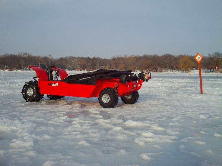 46 best amphibious atv images on pinterest atv atvs and for Atv ice fishing accessories