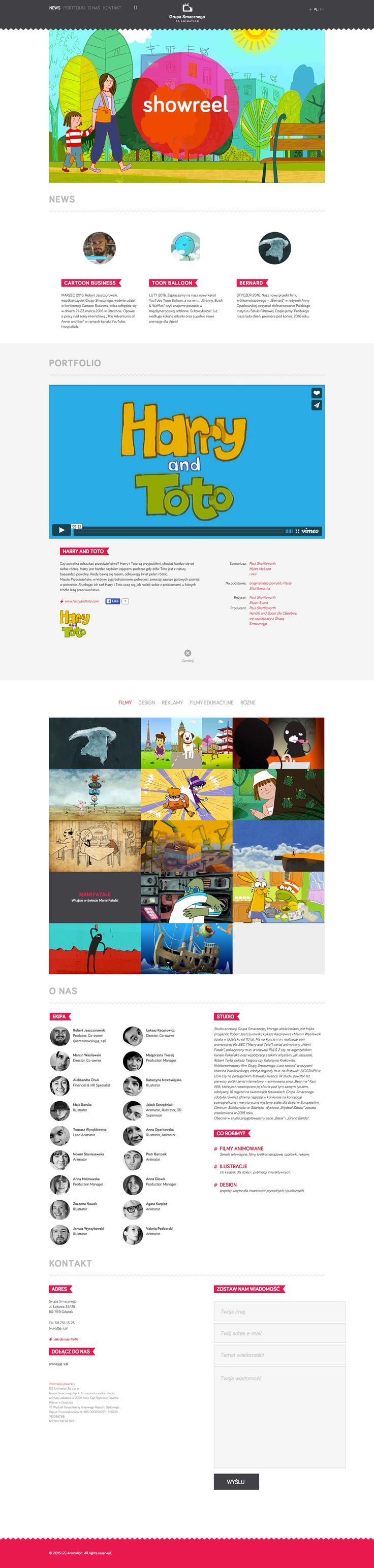 GS Animation website