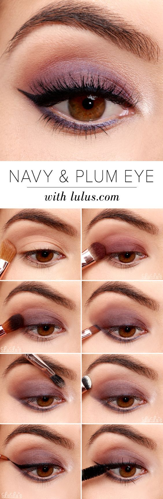 25 trending simple eyeshadow tutorial ideas on pinterest simple 32 easy step by step eyeshadow tutorials for beginners ccuart Images