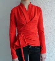 yo elijo coser: Patrones gratis de blusas, tops y camisetas. Página nº5