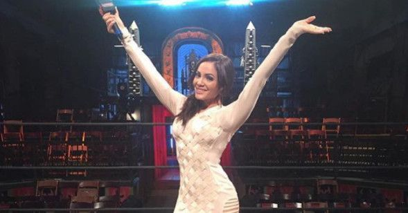 Lucha Underground preview: Rise of the Ring Announcer https://www.cagesideseats.com/2017/9/20/16337482/lucha-underground-preview-season-3-episode-36-melissa-santos?utm_campaign=crowdfire&utm_content=crowdfire&utm_medium=social&utm_source=pinterest #wwe #wweraw #sdlive #wrestling #prowrestling #nxt #lucha