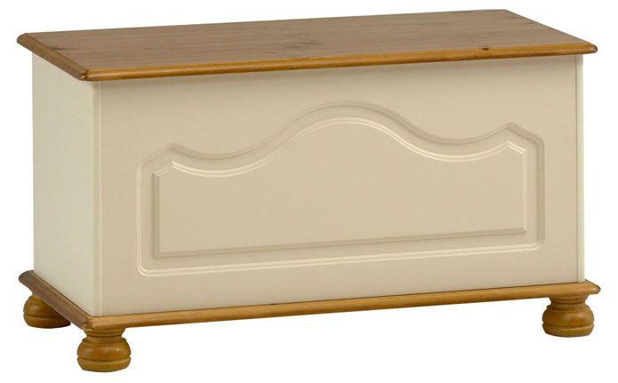 Steens Richmond Cream & Pine Bedroom Furniture at