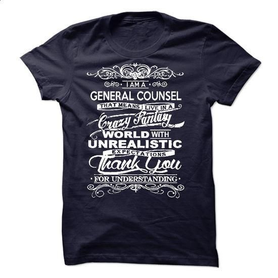 I Am A General Counsel - #womens #custom shirt. SIMILAR ITEMS => https://www.sunfrog.com/LifeStyle/I-Am-A-General-Counsel-51816753-Guys.html?60505