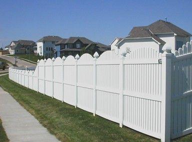 Prepossessing Vinyl Fencing Uk And Vinyl Fence Quad Cities Fence And Gate Pinterest Quad
