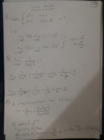 Matematik -1 Vize Soruları Ve Cevapları (Müh. Fakültesi-Yaz Okulu 2016)
