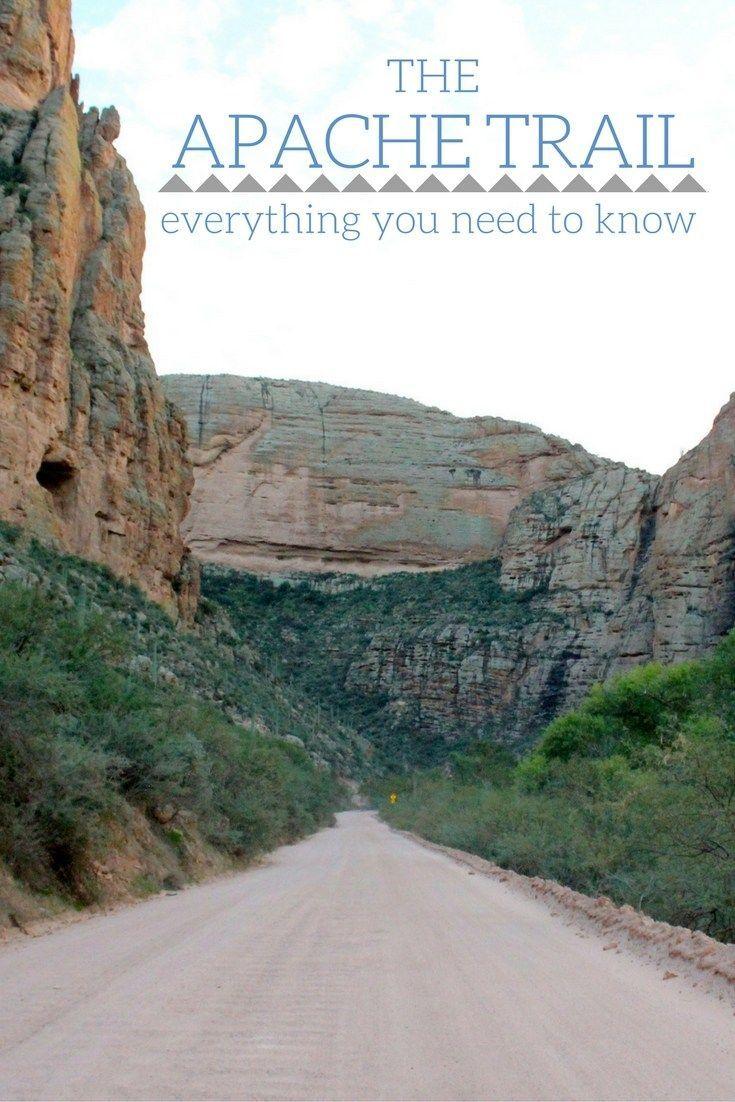 Just outside of Phoenix, Arizona lies the scenic and beautiful Apache Trail!