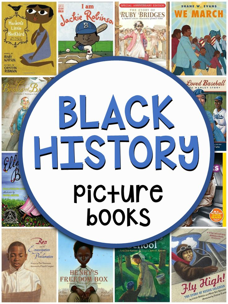 Looking for black history books for kids? You'll love this collection of 40 amazing picture books!