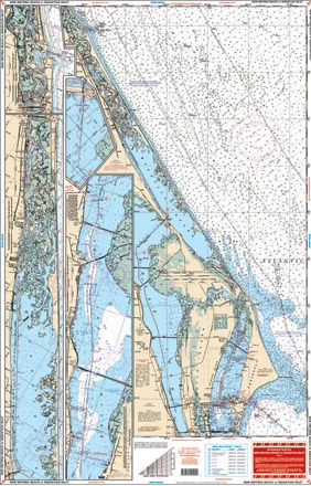 New smyrna beach, Fishing maps and Charts on Pinterest