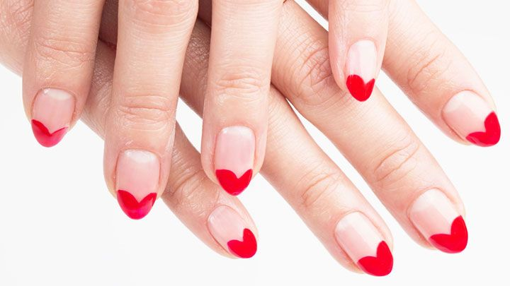 Nail Art How-To: Heart to Heart Mani