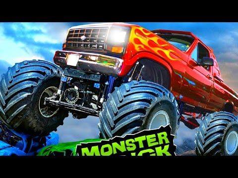 monster race 3d car racing game monster truck videos games for kids http